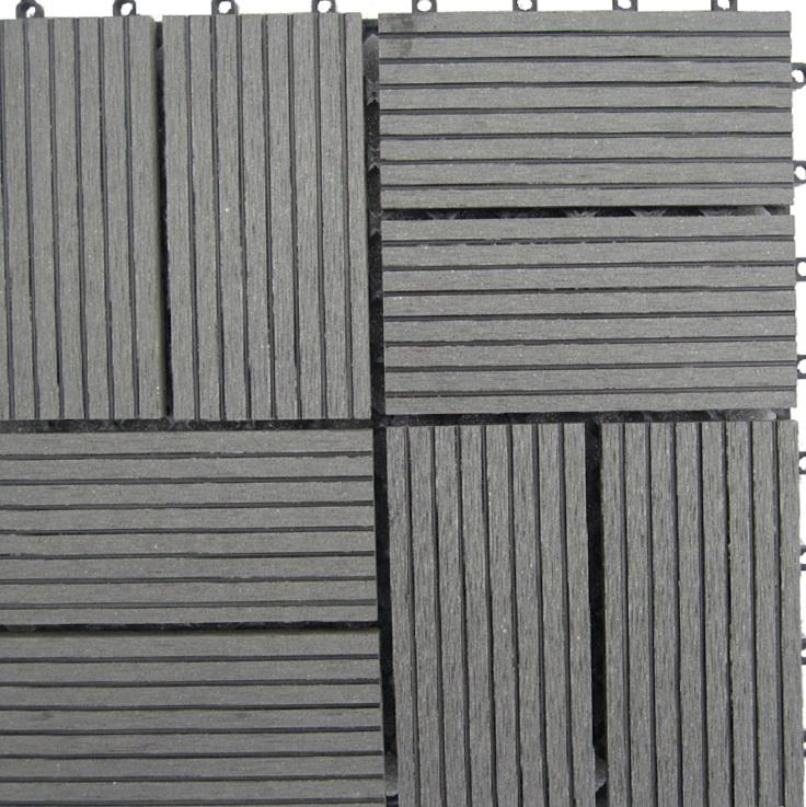 Bamboo Composite Deck Tiles