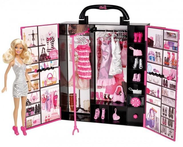 Barbie Closet For Clothes
