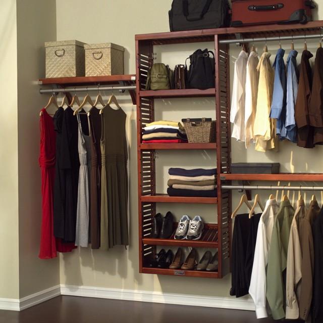 Bedroom Closet Storage Systems