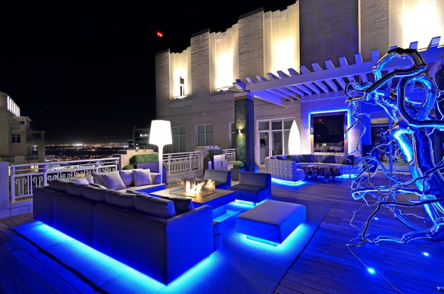 Blue Led Deck Lights