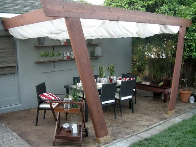 Build Your Own Deck Canopy