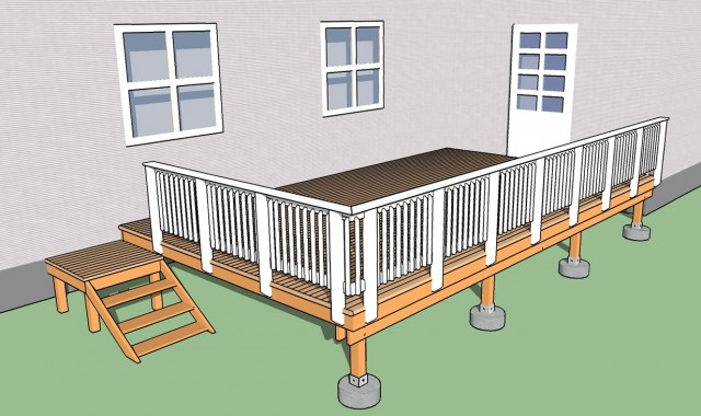 Building A Deck Railing Codes