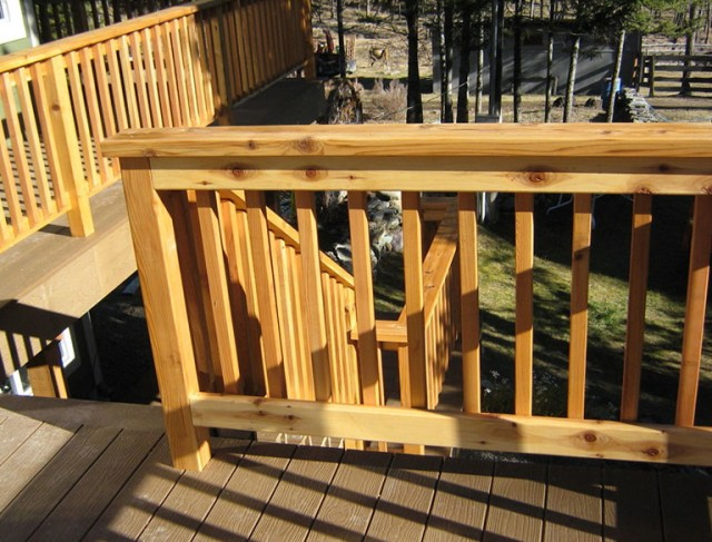 Building A Deck Railing Step By Step