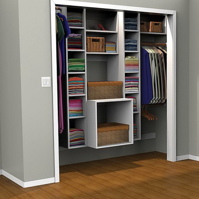Built In Closet Organizer Plans