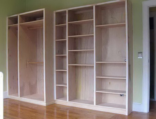 Built In Closet Plans Free