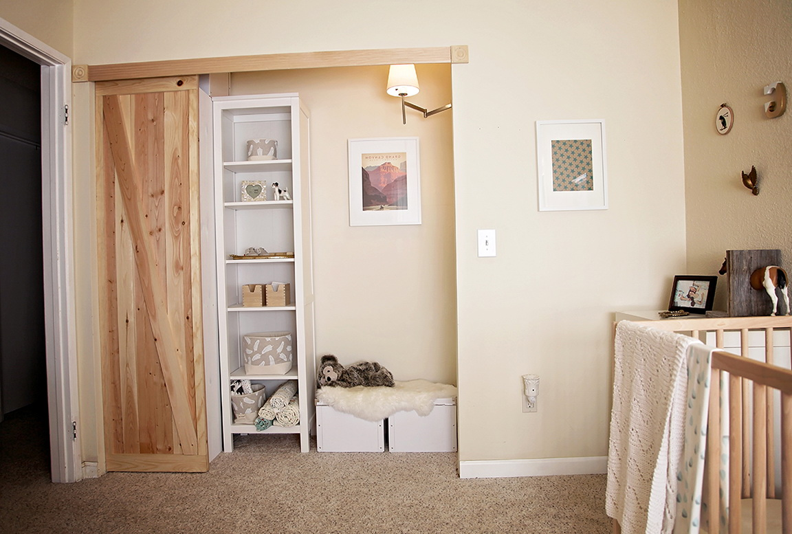 California Carriage Barn Doors For Closets