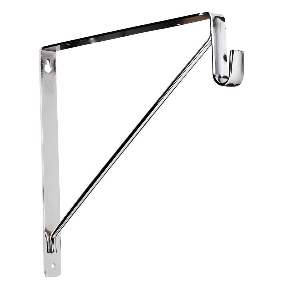 Closet Brackets Rod Supports
