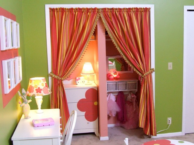 Closet Curtain Ideas Pinterest