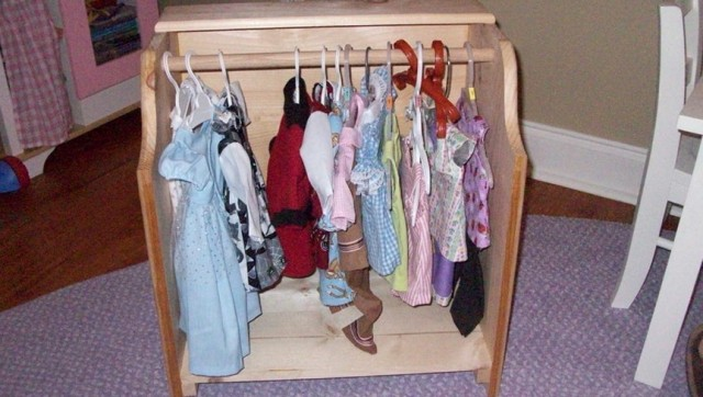Closet For Doll Clothes