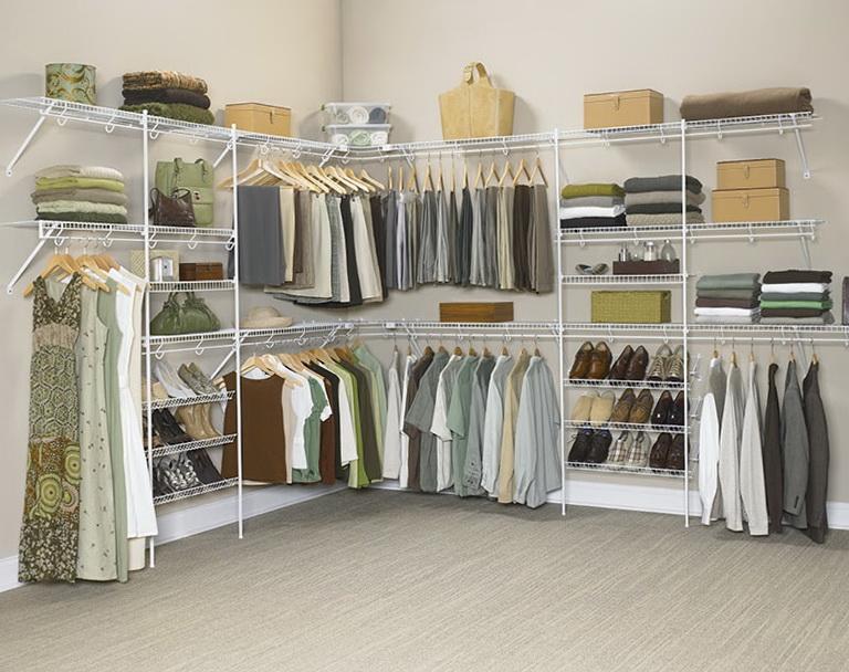 Closet Organizer Shelves Wire