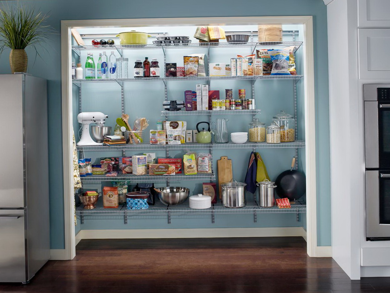 Closet Pantry Shelving Ideas