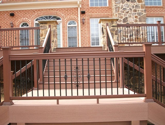 Composite Deck Railing Ideas