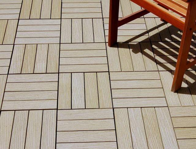 Composite Wood Decking Tiles