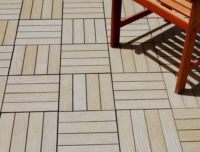 Composite Wood Decking Tiles