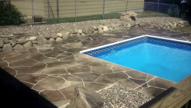 Concrete Pool Deck Colors