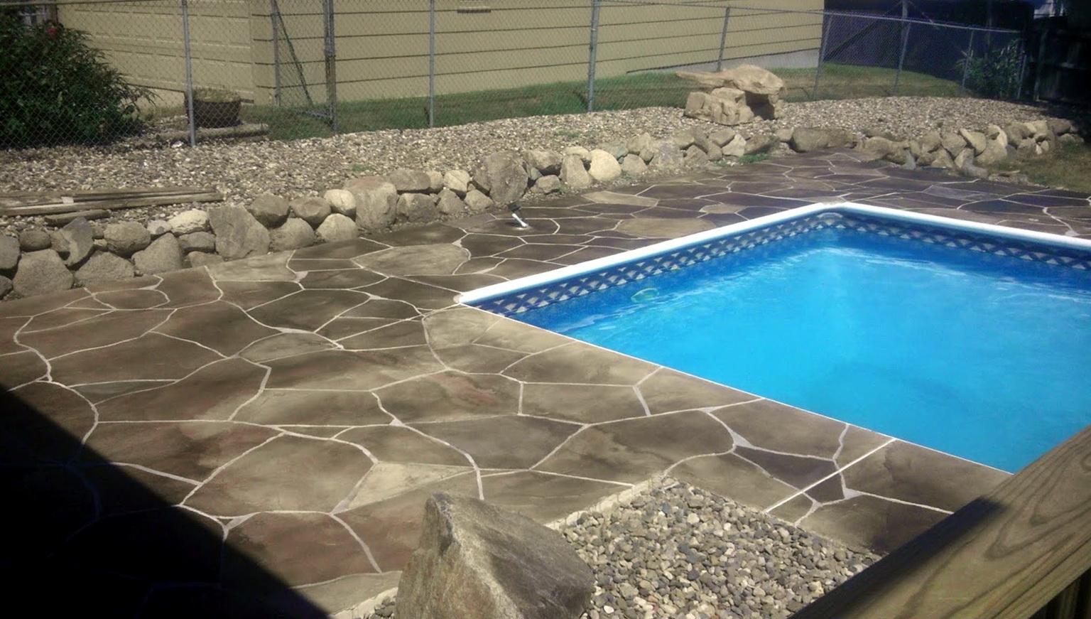 Concrete Pool Deck Colors