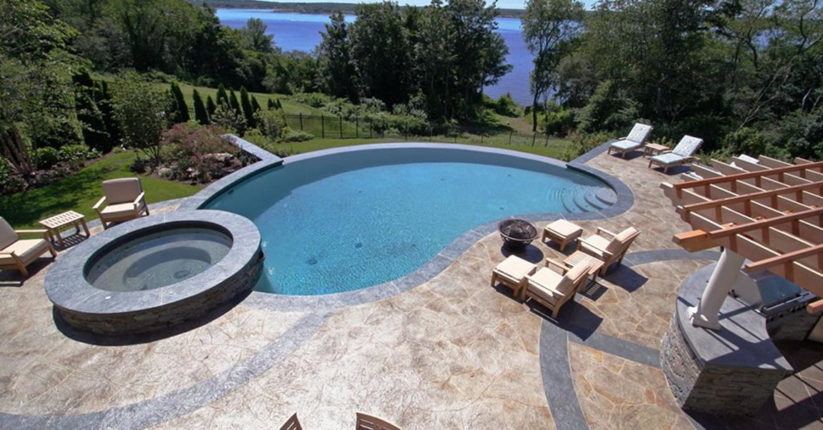 Concrete Pool Deck Designs
