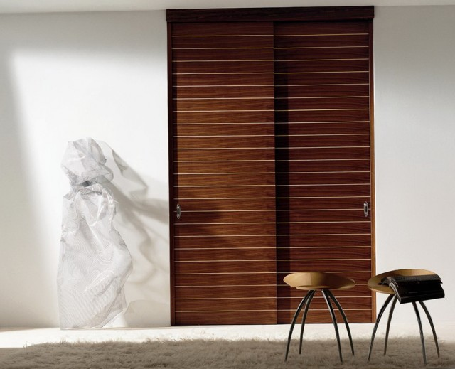 Contemporary Closet Doors Interior