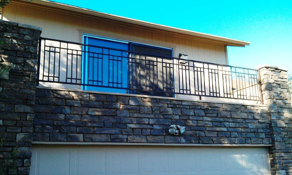 Contemporary Modern Deck Railing Dallas Tx