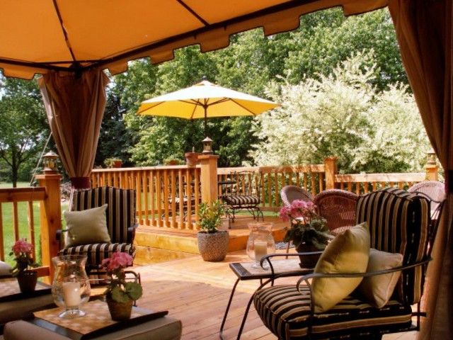 Covered Deck Ideas On A Budget