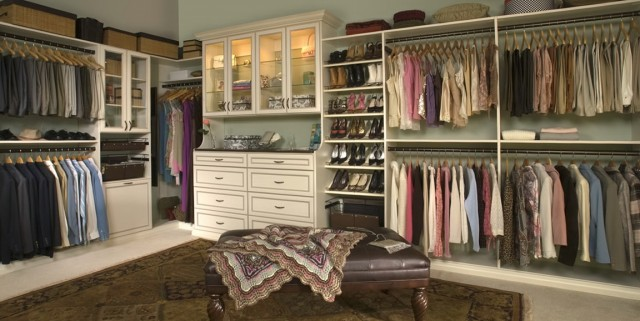 Custom Master Bedroom Closets
