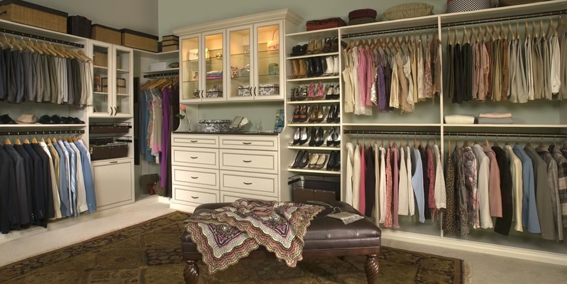 Custom Master Bedroom Closets