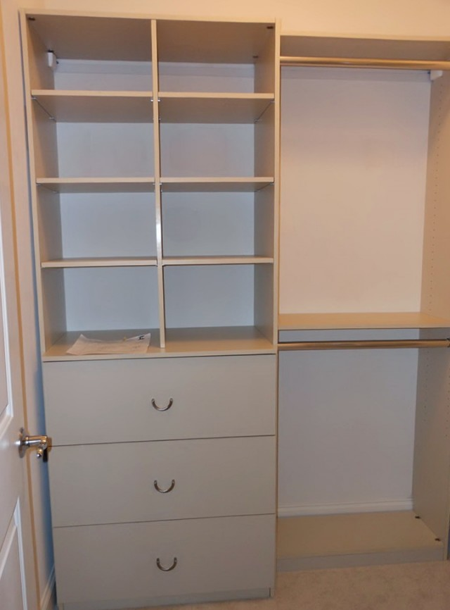 Custom Small Walk In Closets