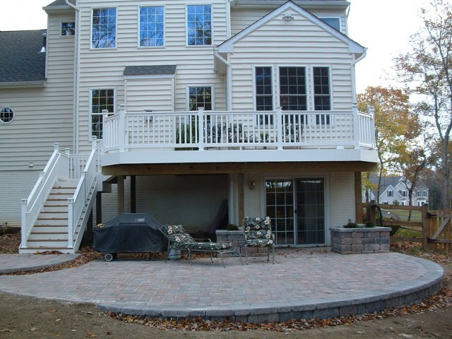 Deck And Patio Combo