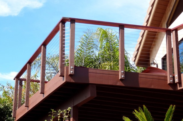 Deck Cable Railing Diy