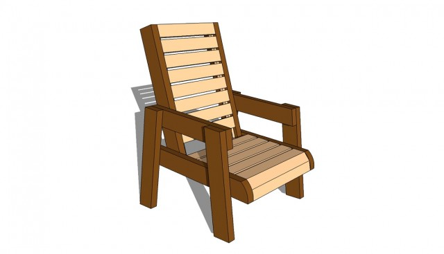 Deck Chair Design Plans
