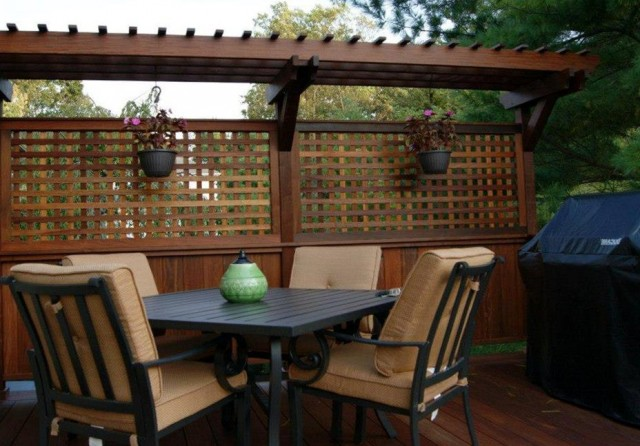 Deck Privacy Walls Ideas