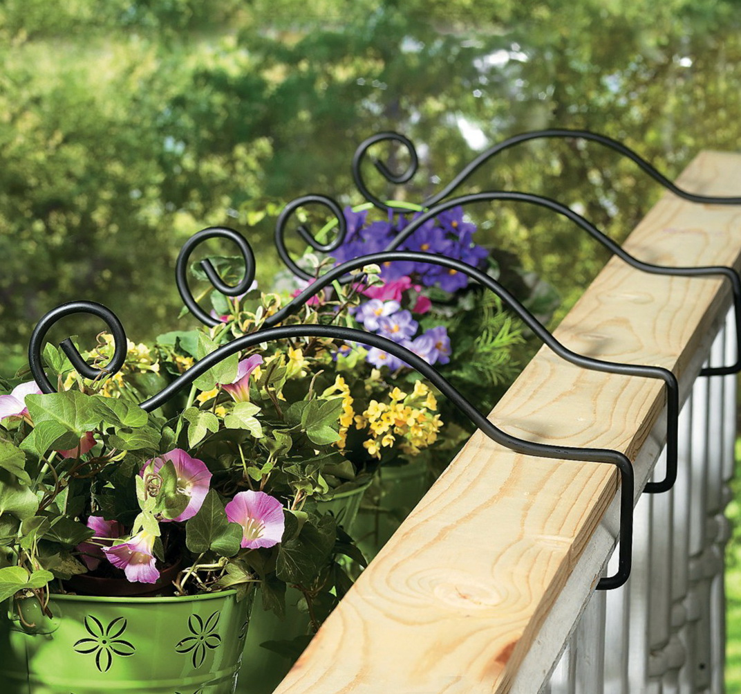 Deck Railing Planter Holder