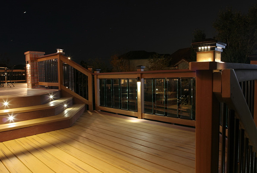 Deck Stair Lighting Code