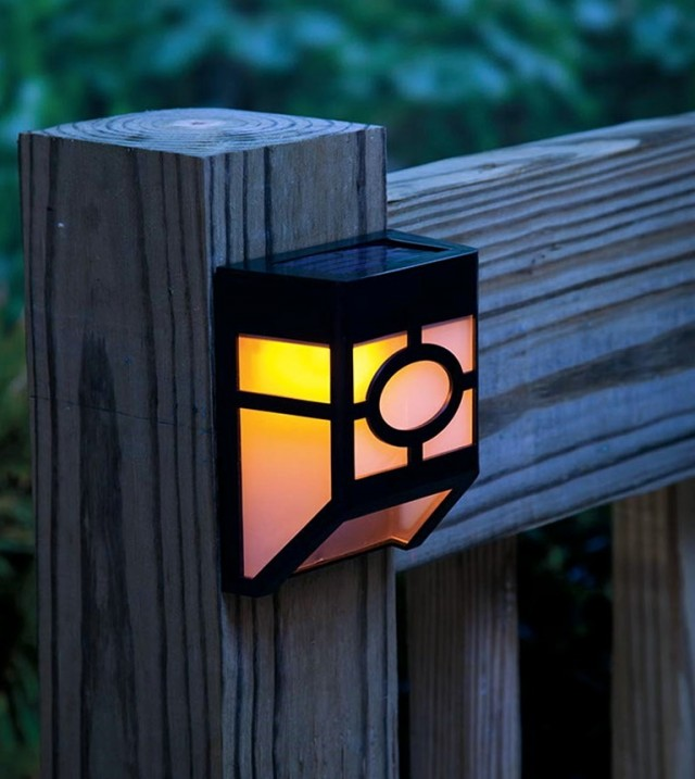 Deck Stair Lighting Solar