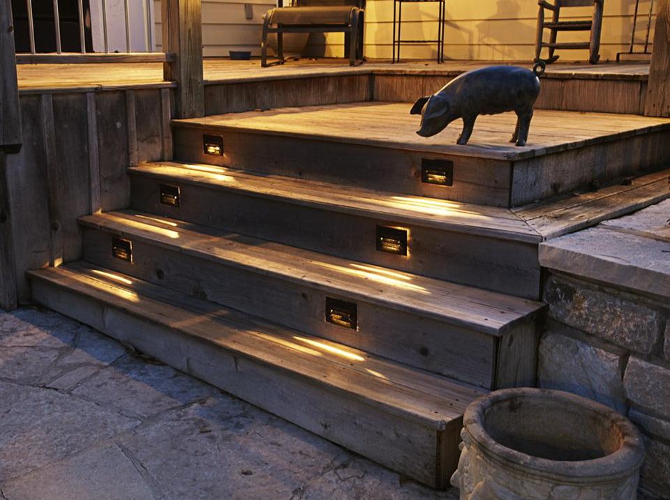 Deck Stair Lighting Spacing