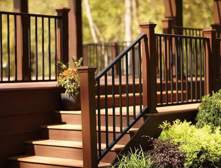 Deck Stair Railing Designs