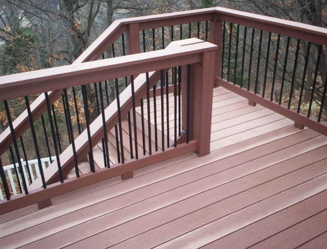 Deck Stair Railing Ideas