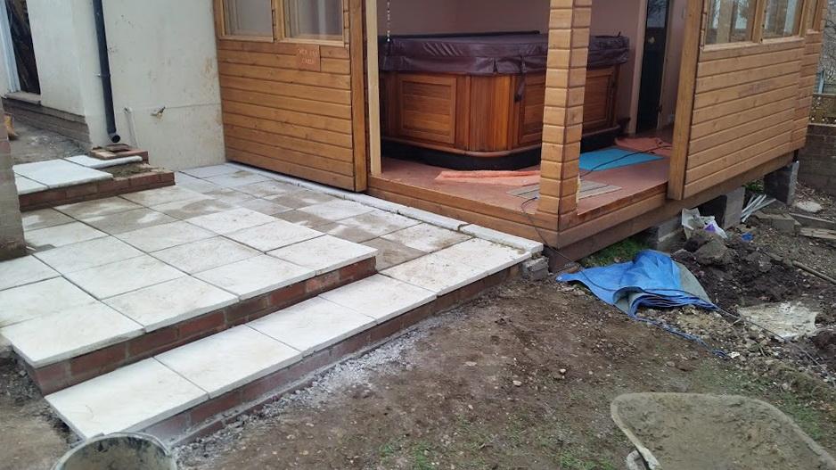 Deck Tiles Over Concrete Slab