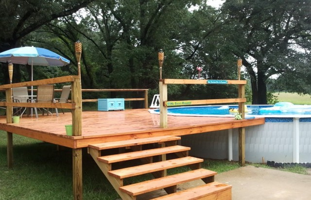 Decks For Above Ground Pools Prices