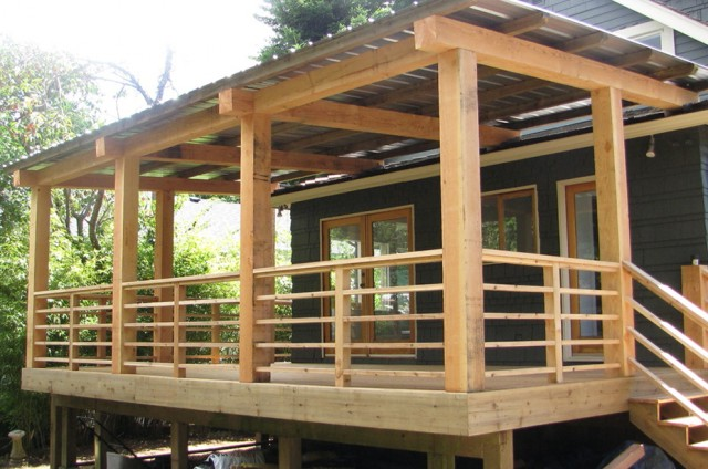 Decks With Roofs Ideas