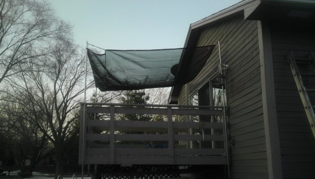 Diy Awnings For Decks
