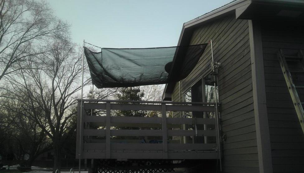 Diy Awnings For Decks