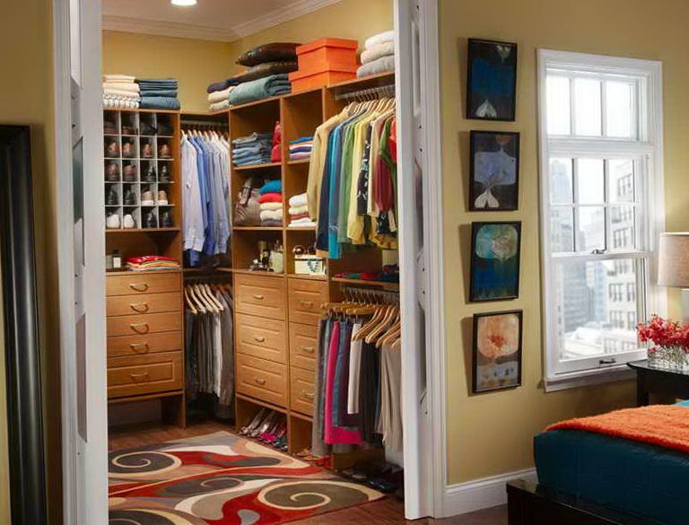 Diy Closet Organizer Ideas Pinterest