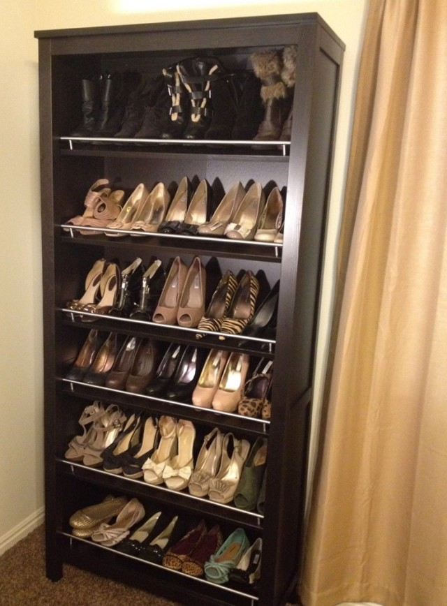 Diy Closet Shoe Shelves