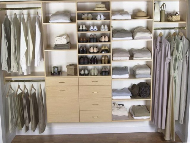 Diy Closet Storage Design