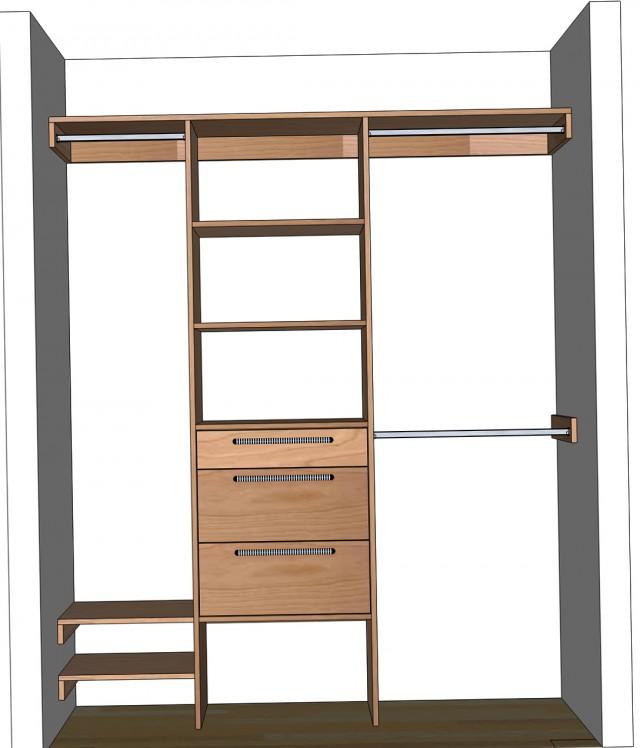 Diy Closet Storage System