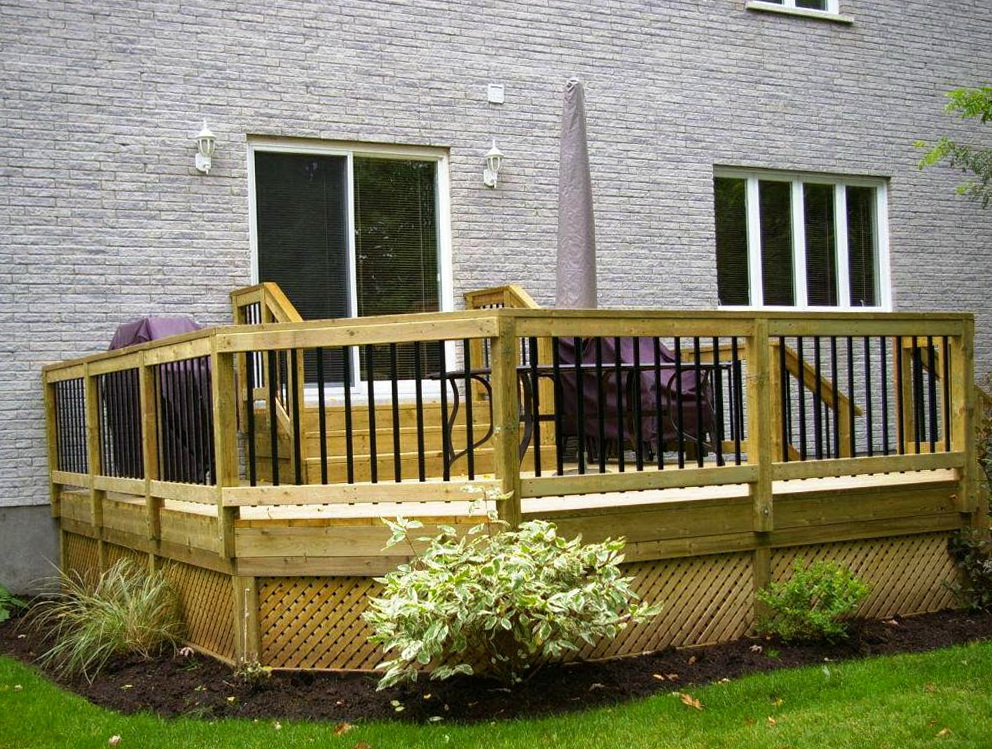 Diy Deck Plans And Cost
