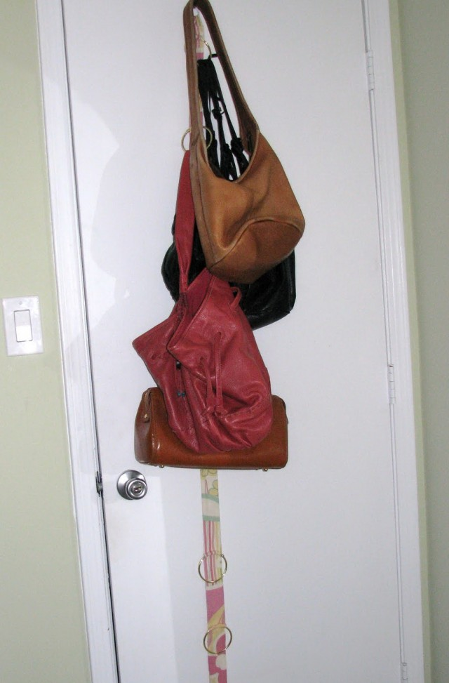 Diy Purse Hanger For Closet