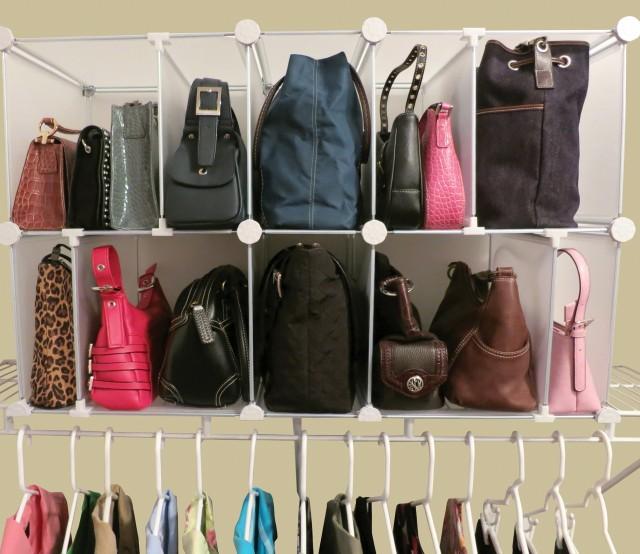 Diy Purse Organizer Closet