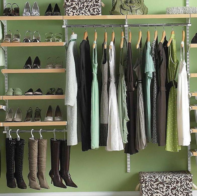 Elfa Closet Design Ideas